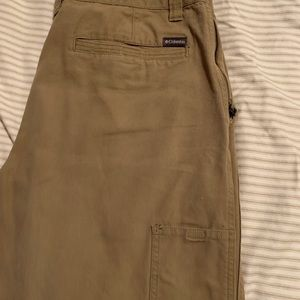 Columbia khaki pants 36-34